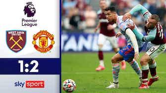Vorschaubild für Ronaldo trifft wieder! | West Ham United - Manchester United 1:2