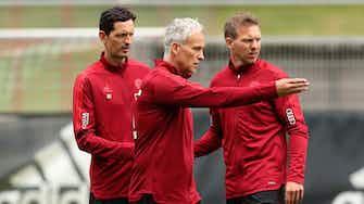 """Vorschaubild für """"Grippaler Infekt"""": Nagelsmann gegen Benfica nicht auf der Bank"""