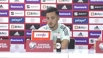 """Imagen de vista previa para Pablo Sarabia: """"Debemos sumar de tres en tres, queremos estar en el Mundial"""""""
