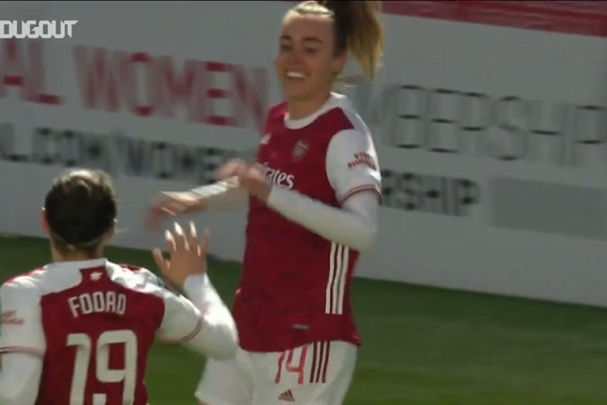 Wubben-Moy inspires Arsenal Women to win over Man United