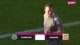 Vorschaubild für 1. FC Saarbrücken - SV Wehen Wiesbaden (Highlights)