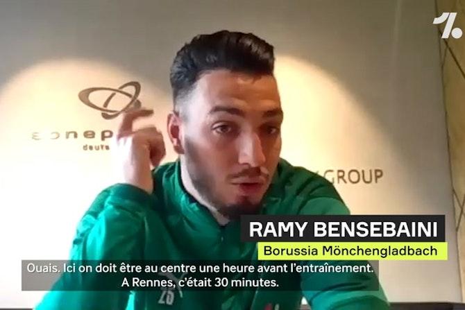"""Bensebaini : """"La vraie différence avec la France, c'est le respect des horaires"""""""