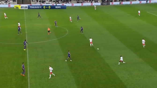 Ligue 1: Toulouse - Reims   DAZN Highlights