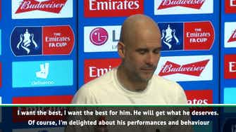 Preview image for Foden can 'reach whatever he wants' - Guardiola