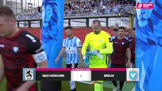 Vorschaubild für TSV 1860 München - FC Viktoria 1889 Berlin (Highlights)