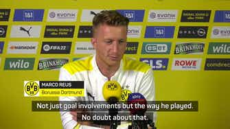Preview image for Mixed emotions for Reus after Sancho departs Dortmund