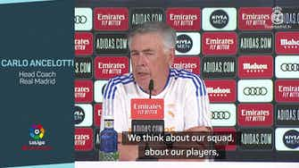 Preview image for Ancelotti not 'disappointed' to miss out on 'great player' Mbappe