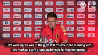 Preview image for Eden is eager to play and be decisive - Thorgan Hazard