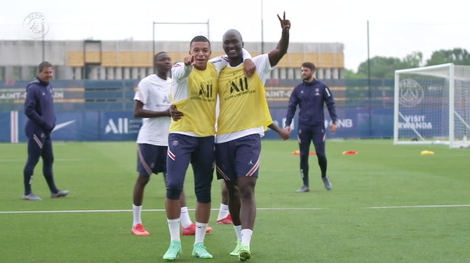 Preview image for Kylian Mbappé is back at the training center