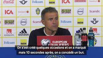 """Image d'aperçu pour Espagne - Luis Enrique : """"Un but stupide qui a tout changé"""""""