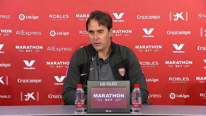 """Imagen de vista previa para Lopetegui, en titulares: """"Nos hacía iluión batir nuestro récord de puntos"""""""