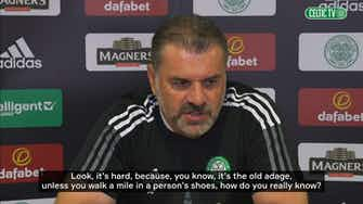 Preview image for Postecoglou: Kyogo is enjoying his time at Celtic