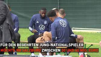 Vorschaubild für FC Bayern intensiviert Gespräche über Adeyemi-Wechsel