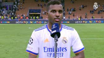 Preview image for Rodrygo: 'I love scoring in the Champions League'