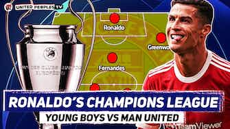 Preview image for Young Boys vs Man Utd | RONALDO Champions League No.6? | Predicted Starting XI