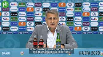 Preview image for Şenol Güneş: 'We dreamed of this tournament for a long time'