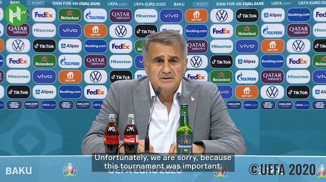 Şenol Güneş: 'We dreamed of this tournament for a long time'