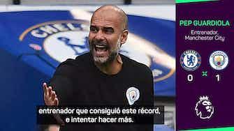 Imagen de vista previa para Guardiola, orgulloso por convertirse en el entrenador con más victorias del City