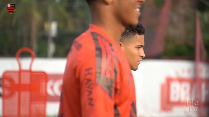 Flamengo's players are back to training centre