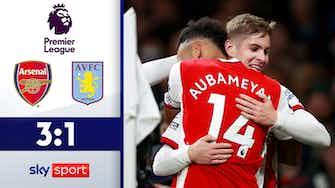 Vorschaubild für Gunners überzeugen | Highlights: FC Arsenal - Aston Villa 3:1