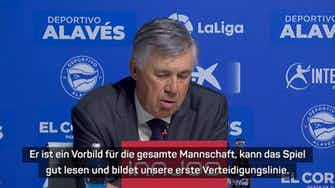 """Vorschaubild für Ancelotti: """"Benzema ist kein Stürmer für mich"""""""