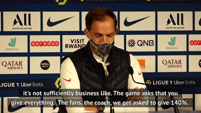 Preview image for Tuchel unhappy with PSG attitude after Bordeaux draw