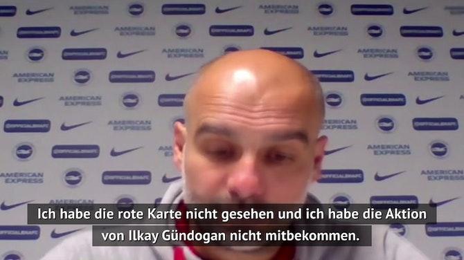 Guardiola gibt Update zu Gündogans Verletzung