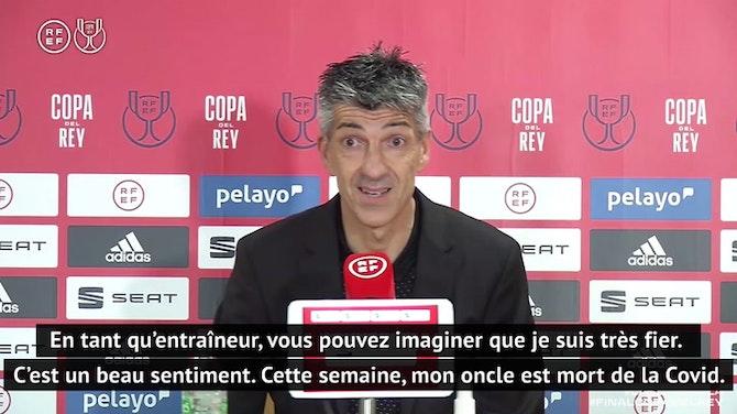 """Finale - Alguacil : """"Extrêmement fier de rentrer dans l'histoire de la Real Sociedad"""""""