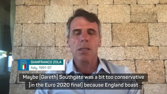 Preview image for Mancini capitalised on Southgate's failures in Euro final - Zola