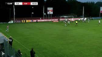 Vorschaubild für Flensburg holt dreier gegen Heider SV