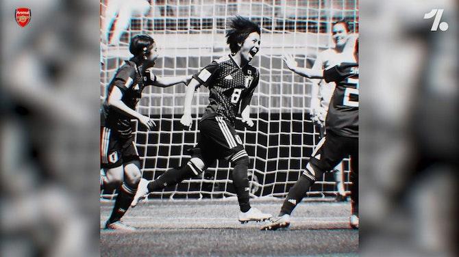 Arsenal Women announced signing of Mana Iwabuchi