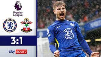 Vorschaubild für Werner ballert Blues an die Spitze | Highlights: Chelsea - Southampton 3:1
