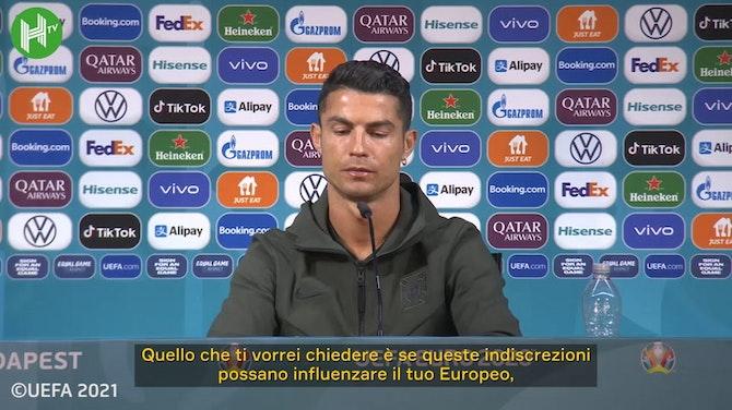 Anteprima immagine per Cristiano Ronaldo: 'Qualsiasi cosa accada in futuro, sarà qualcosa di positivo'