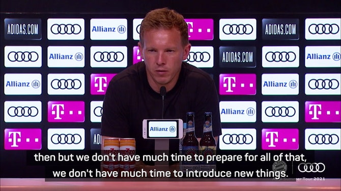 Preview image for  Nagelsmann eyes Bayern rhythm after another defeat