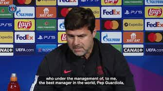 Preview image for Pochettino compares PSG and Man City's projects