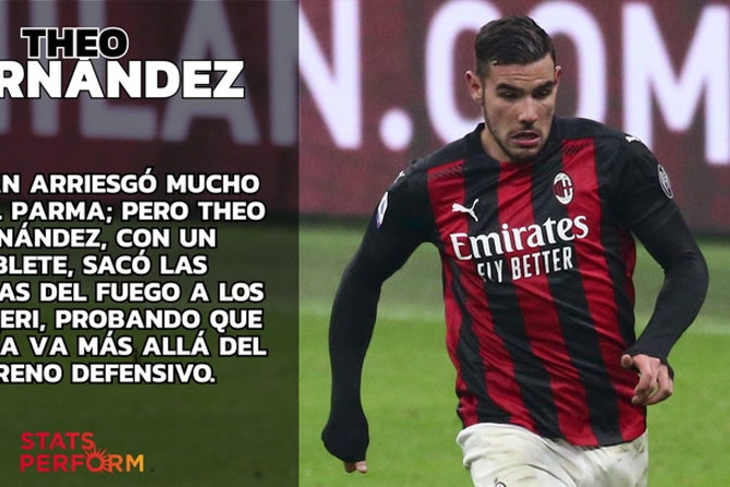 Theo Hernández: la cabeza y las piernas del Milan
