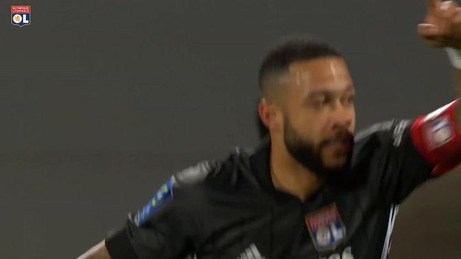Vorschaubild für Das letzte Tor von Memphis Depay für Olympique Lyon