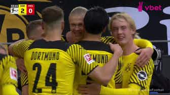 Imagem de visualização para Erling Haaland with a Penalty Goal vs. Mainz