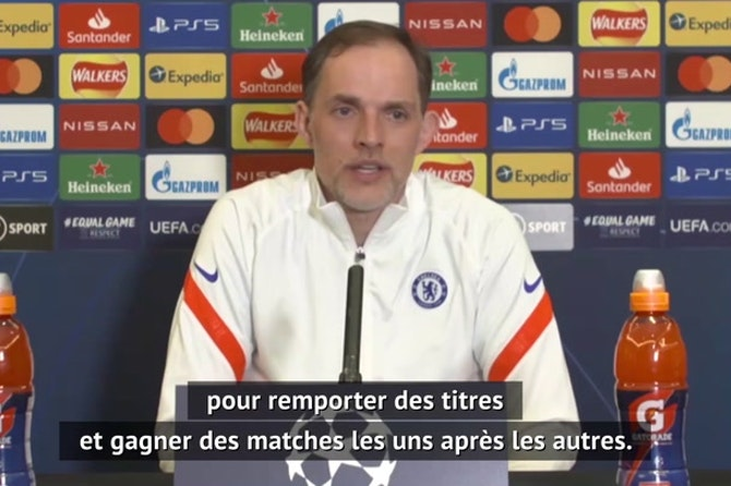 """Quarts - Tuchel : """"Je suis à Chelsea pour gagner des titres"""""""