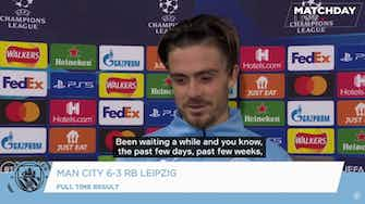 Preview image for Grealish focused on points despite impressive Champions League debut