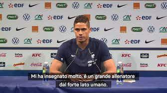 """Anteprima immagine per Varane: """"Devo tutto a Zidane, gli auguro il meglio"""""""