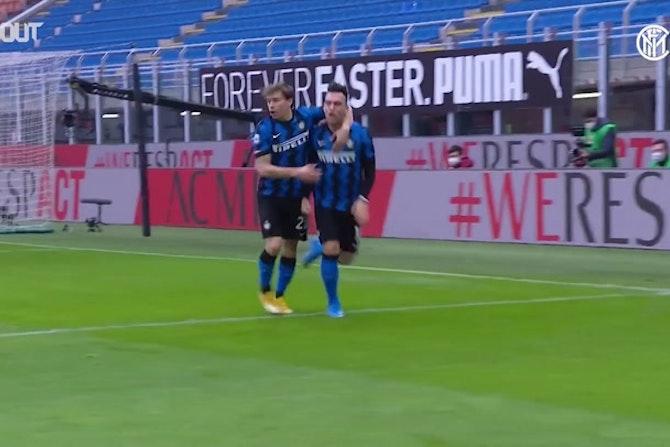 Les têtes de Lautaro Martinez à l'Inter Milan