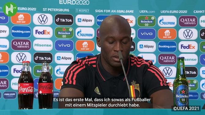 """Lukaku: """"Ich verbringe mit Eriksen mehr Zeit als mit meiner Familie"""""""