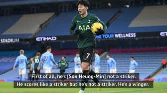 Preview image for Son's stats are remarkable - Mourinho