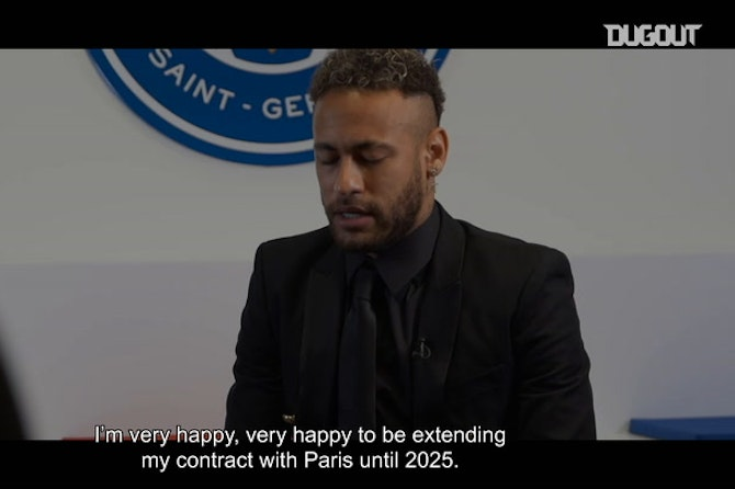 Neymar Jr extends his contract with PSG