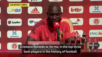 Preview image for Don't compare me to Ronaldo!' – Lukaku