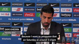 Preview image for 'Football has left its marks' - Khedira announces 'painful' retirement