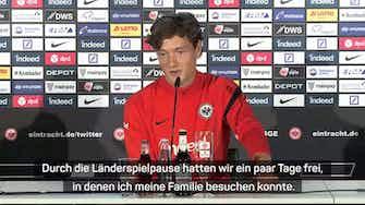 """Vorschaubild für Lammers: """"Eintracht ist ein gutes Team"""""""