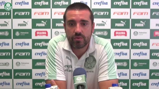 Imagem de visualização para João Martins fala em 'estabilidade' no bom momento do Palmeiras