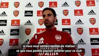 Image d'aperçu pour Arsenal - Wenger a inspiré Arteta